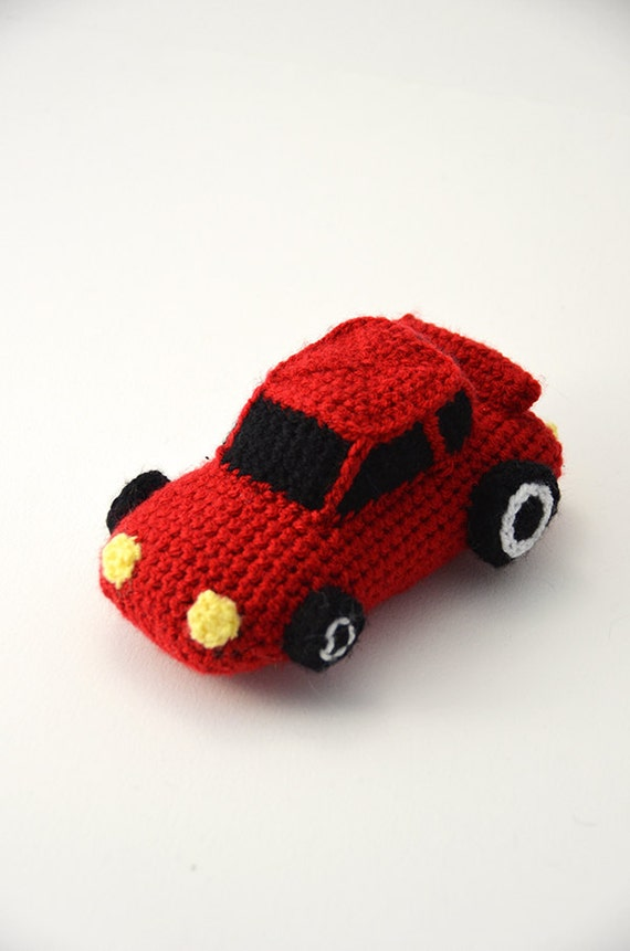 Race Car Crochet Pattern Race Car Amigurumi Sports Car Etsy