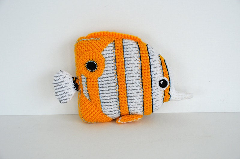 Copperplated Butterfly Fish Crochet Pattern Fish Amigurumi Etsy
