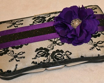 Violet Elegance Wipe Case