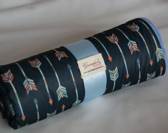 Arrows  - Waterproof Baby Changing Pad (Made to Order)