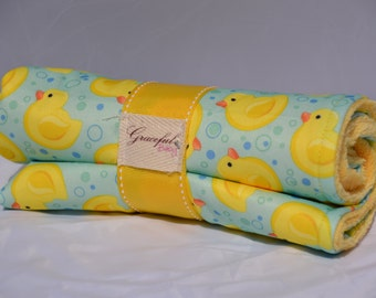 Rubber Duckies - Waterproof Baby Changing Pad (Made to Order)