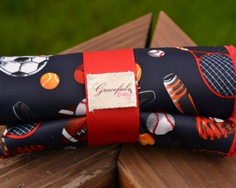 Sports - Waterproof Baby Changing Pad (Made to Order)