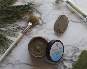 Detox Face Mask, Matcha Green Tea Face Mask ,Skincare Mask
