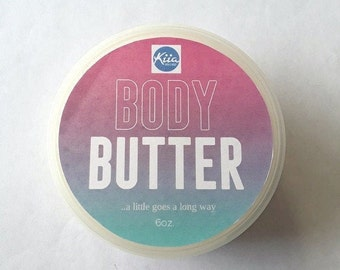 Vanilla Sugar Body Butter 6oz,shea butter moisturizer