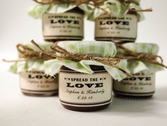 100 Mini Rustic Wedding Favor Jars Small Jam Wedding Jars For Etsy