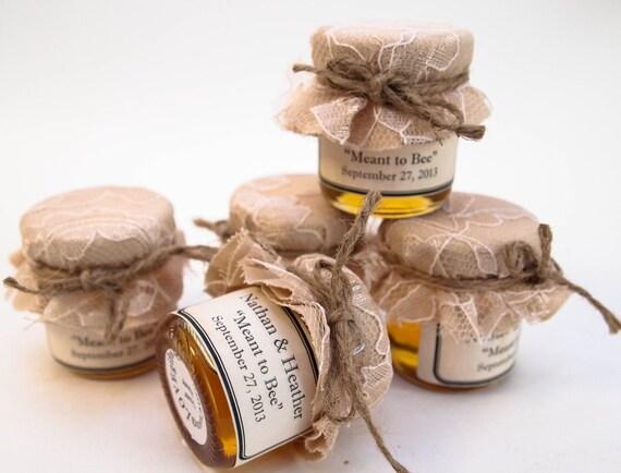 Sample Kit Wedding Favor Mini Mason Jar Honey Favor Rustic Etsy