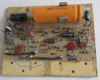 circuit board vintage for altered art unique jewelry steampunk