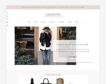 Anemone - Wordpress Theme - Wordpress Genesis Theme // Photography, Fashion & Lifestyle Blogs
