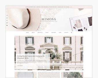 Mimosa - Wordpress theme - Wordpress Genesis Theme // Photography, Fashion & Lifestyle Blogs