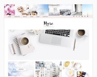 Reese - Wordpress theme - Wordpress Genesis Theme // Photography, Fashion & Lifestyle Blogs