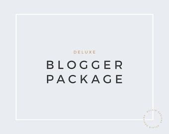 Premade Blogger Package