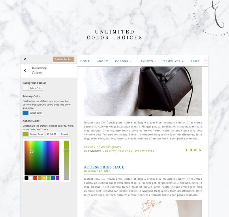 Gold Wordpress Theme Responsive Blog Template Blog Design Welcome to New York