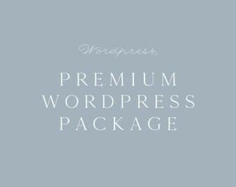 Premium Wordpress package