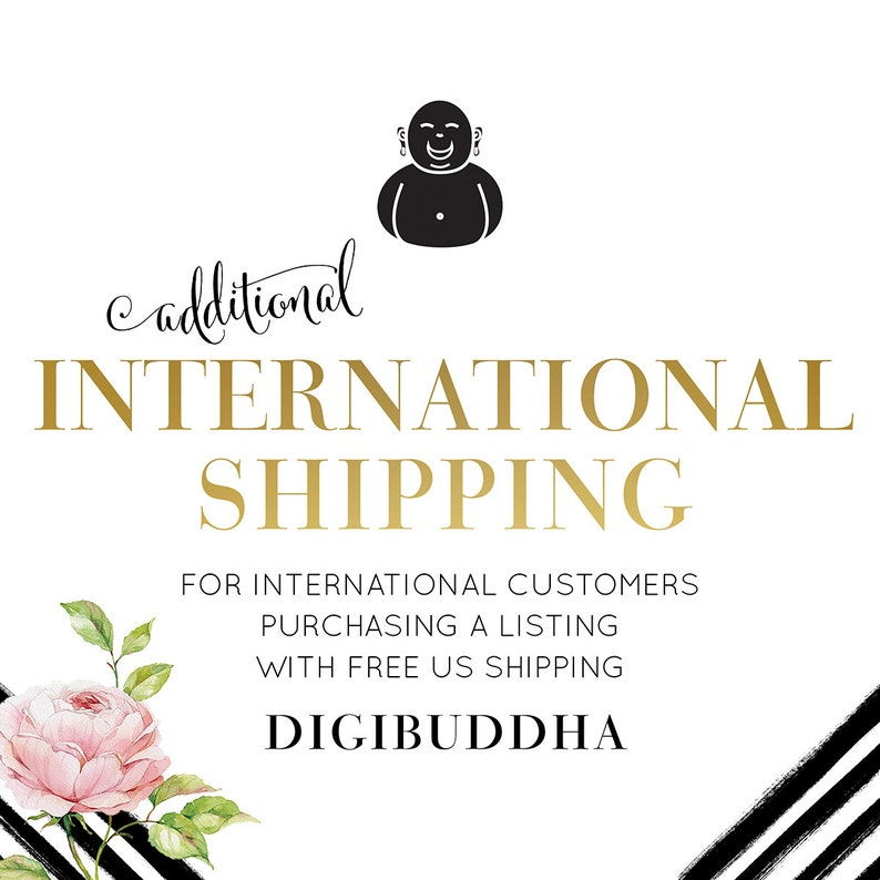 INTERNATIONAL SHIPPING Additional Charge add-on for Australia image 0