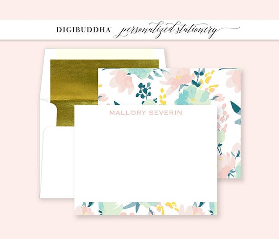 Personalized Stationery Set Note Cards, Professional Stationery Sets Monogram, Professionals Business Stationery, Monogrammed Card Sets,