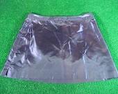 Iridescent Purple Mini Skirt Rave 90s Club Kid 12 Goth Cyber