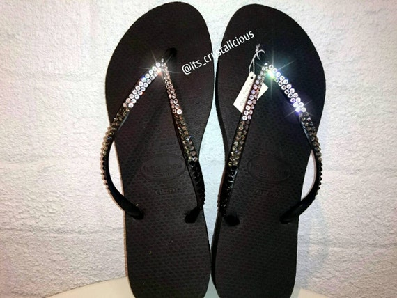 SWAROVSKI In Bling Gradation 3 Flip Flops Colour Covered Crystal Havaianas 5qIxwOcAEW