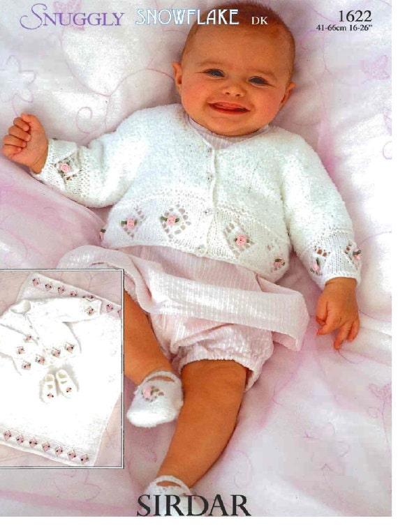 ROSEBUD baby knitting pattern