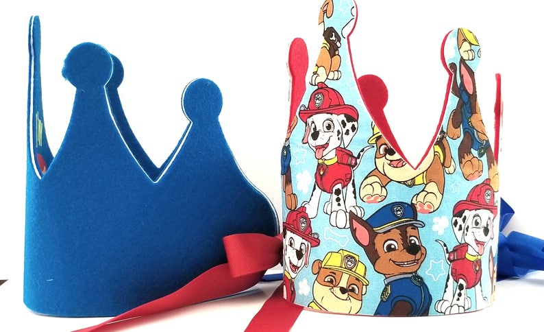 Paw Patrol Birthday Crown Party