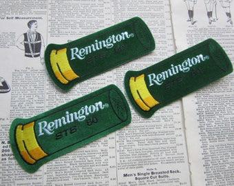93c5d4fa600 Remington Price per (1) Patch Large Remington Shotgun Shell Patch Skeet  Trap Shoot STS 50 Shot Gun Work Shirt Uniform Hot Rod Jacket Coat