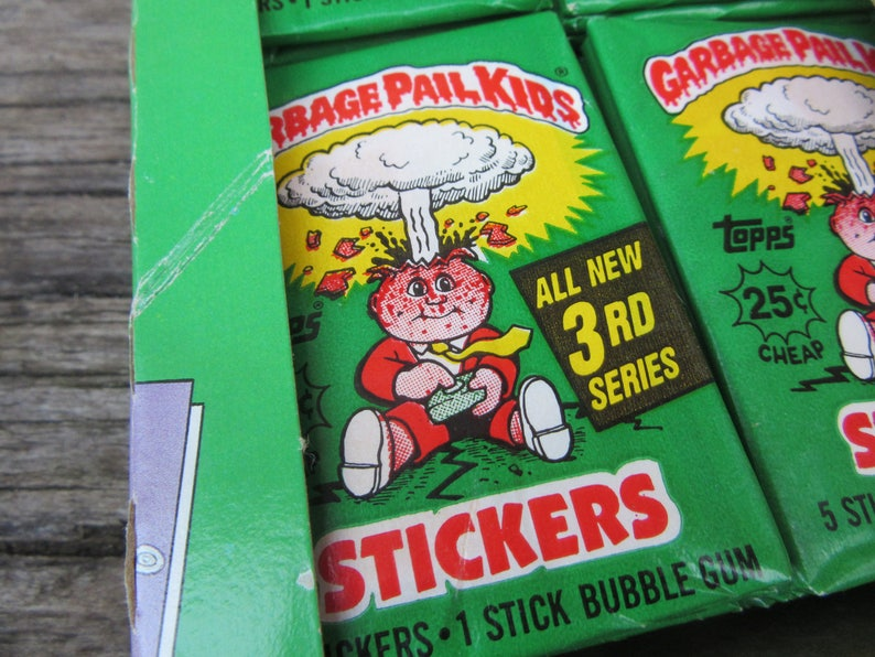 x Packs available 1 1987 87 Garbage Pail Kids USA 8th Series 1 Unopened Pack
