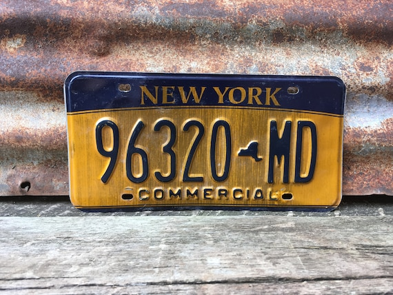 tractors John Deere inspired license plate rusty vintage style for cars trucks