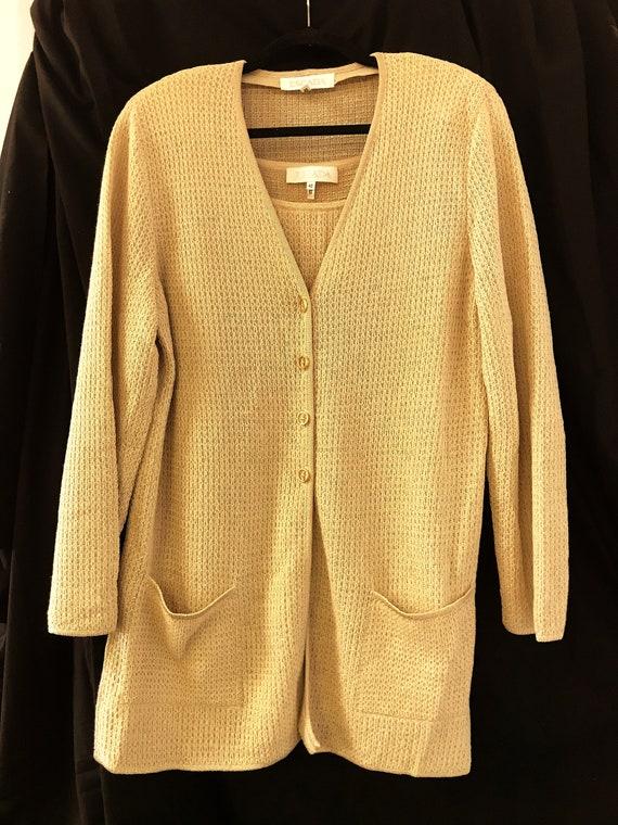 Escada Vintage Designer Sweater Set