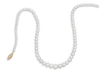 "17"" 3.5mm - 8mm Cultured Freshwater Pearl Necklace"