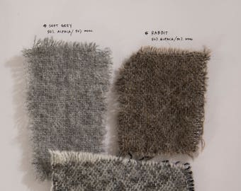 Fabric Samples SET 3 | wool mix
