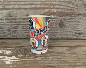 Retro Star Wars Empire Strikes Back Plastic Kids Cup Children Collectible
