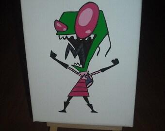Invader Zim Mini Painitng
