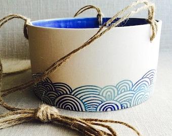 Handmade to order ceramic planter