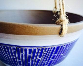 Handmade ceramic planter