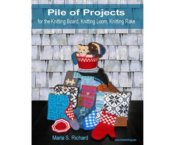 Stricken-Board Webstuhl Muster Buch: Stapel von Projekten für   Etsy