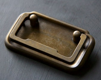 Vintage Bronze Tone Drawer Pull
