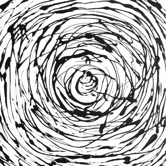 "*Space Spiral #2* canvas abstract Prints Medium 0.25/"" border original Up to 30/"""