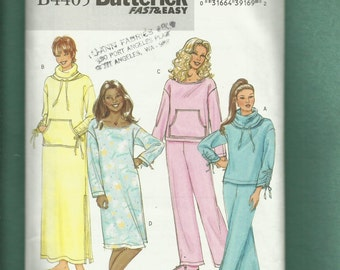 Butterick 4405 Sweatshirt   Pants Lounging Wear with Drawstring Cuffs Sizes  16 to 22 UNCUT 86fd8235a