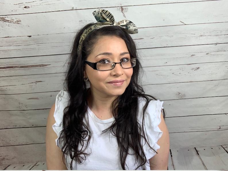 Headband Bow Headband Knot Headband Bow Knot Headband image 0