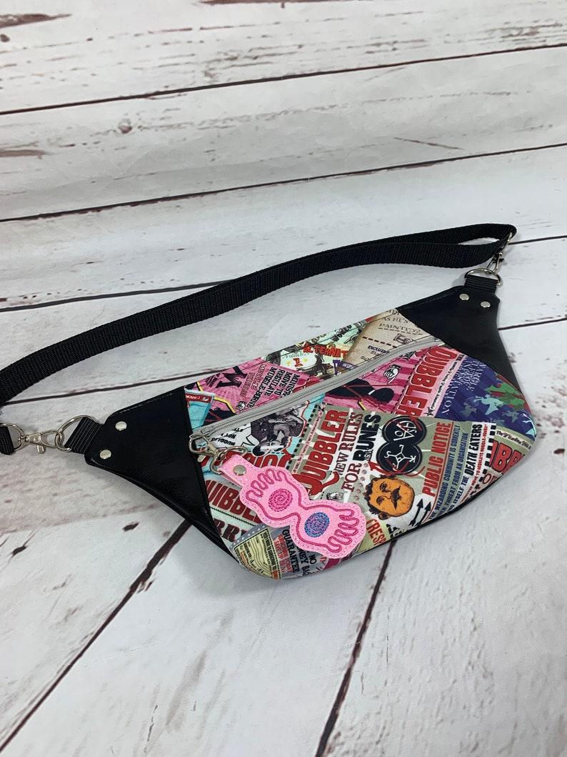 Hip Bag Fanny Pack Waist Pouch Kangaroo Pouch Zipper Bag image 0