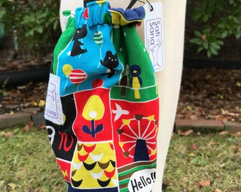 A Day at the Fair Adjustable Water Bottle Bag