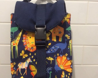 Origami Animals Insulated Lunch Bag