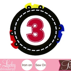 Applique patch Birthday patch Sew on patch Construction Number with Hard Hat Patch Iron on patch Personalized Patch