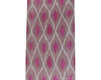 Sale! Ikat Fabric, Ikat Fabric by the yard, Hand Woven Fabric, F16