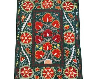 Silk Handmade Modern Suzani NS22 (ES115)