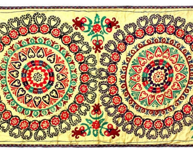 Handmade Vintage Suzani VS86 (S2418)
