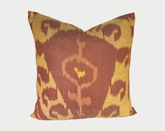 Ikat Pillow, Ikat Pillow Cover, Ikat throw pillows, Designer pillows, Decorative pillows, Accent pillows, IP117