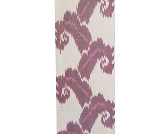 Sale! Ikat Fabric, Ikat Fabric by the yard, Hand Woven Fabric, F14
