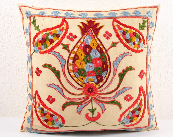 Handmade Suzani Pillow Cover SP16 (usp109)