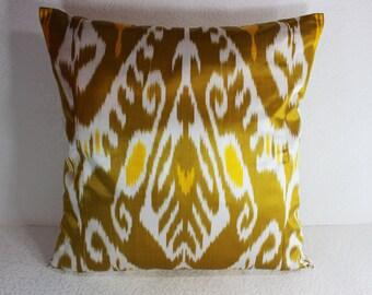 Ikat Pillow, Handmade Ikat Pillow Cover  IP91 (S109), Ikat throw pillows, Designer pillows, Decorative pillows, Accent pillows
