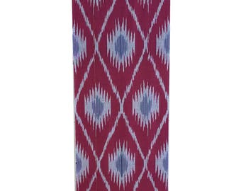 Sale! Ikat Fabric, Ikat Fabric by the yard, Hand Woven Fabric , F-A460-20